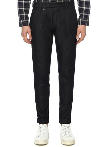 NetWork NetWork 1070379 Pamuklu Slim Fit Normal BelPaÇa Erkek Pilili Pantolon Lacivert